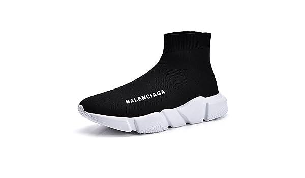 c3e1cc7fa7e82 Amazon.com: QIDI Casual Shoes Male Black Set Foot Comfortable Lovers ...