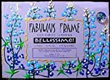 BELLISSIMO! Texas Bluebonnets Design Hand Painted Pictured Frame
