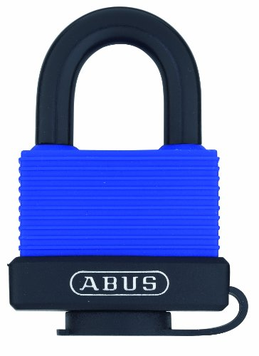 ABUS 70/45 All Weather Solid Brass Blue Padlock Keyed Different - Stainessless Steel - Weatherproof Padlock