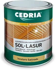 CEDRIA Sol Lasur Incoloro Mate 750 ml