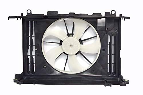 - Sunbelt Radiator And Condenser Fan For Toyota Corolla Pontiac Vibe TO3115156 Drop in Fitment