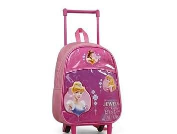 Mochila con carro de las Princesas Disney. ATA21575: Amazon.es: Juguetes y juegos