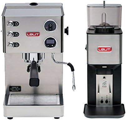 Set LELIT pl81t Grace portafiltros Cafetera de espresso con ...
