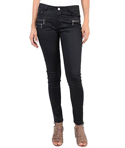 Casual Donna Caldi Jeans Schwarz Denim 7178 Pantaloni Krisp wPIX4Xx