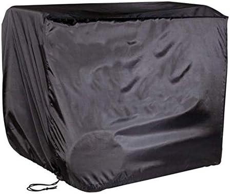 家具カバー ファニチャー ファニチャーカバー ガーデン家具カバー 防水 長方形 ガーデンパティオカバー テーブルと椅子 、黒 ガーデン 庭用保護カバー シャンボ14011 (Size : 135×135×75CM)