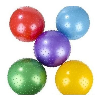Fun toys 18 Inch Knobby Ball 5 Pack Assorted Colors: Toys & Games