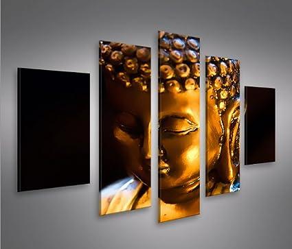 Buddha V6 MF 5 Quadri moderni su tela - pronti da appendere ...