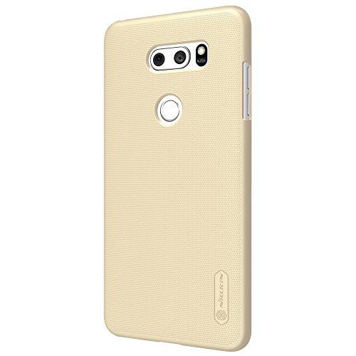 Caja del teléfono LG V30 Funda Espalda Cover Material de protección del medio ambiente,Ultra delgada,Estilo Smartphone Funda Carcasa Case Cover Caso para LG V30 (Negro) Oro