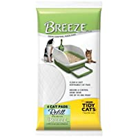 "Breeze Tidy Cat Litter Pads 16.9 ""x11.4"" (1 paquete de 4 almohadillas)"