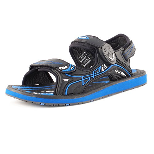 Gold Pigeon Shoes GP9149 Durable Outdoor Water Sports Sandal With Easy Snap Lock Closure For Men Women Kids Black Blue 6909