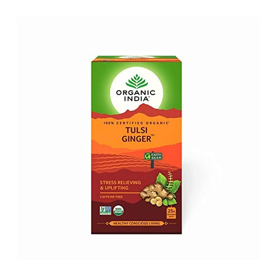Organic India Tulsi Ginger 25 TB