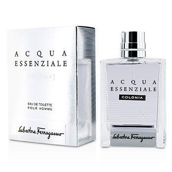 Salvatore Ferragamo Acqua Essenziale Colonia Eau De Toilette Spray For Men 100Ml/3.4Oz