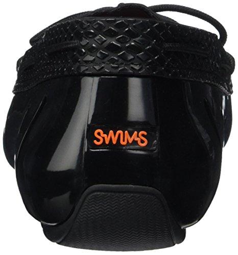 Swims Lace Loafer, Mocassini Donna Nero (Schwarz (Black Python 339))