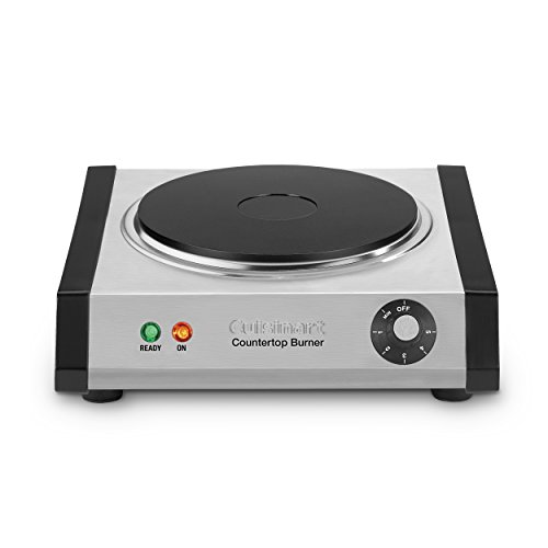 Cuisinart CB-30 Cast-Iron Single Burner, Stainless Steel ()