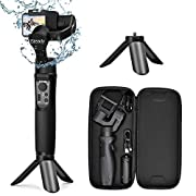 #LightningDeal 3-Axis Gimbal Stabilizer for GoPro - Handheld Gimbal w/Inception & Sport Mode IPX4 Splash Proof Trigger Button for Action Camera Hero 7/6/5/4/3, DJI Osmo Action, Yi Cam 4K, AEE - Hohem iSteady Pro2