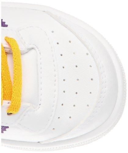 adidas Originals Unisex Baby Top Ten Hi I Freizeitkleidung/Streetwear, Wht/Blubir/Nny Blanc (G63357)