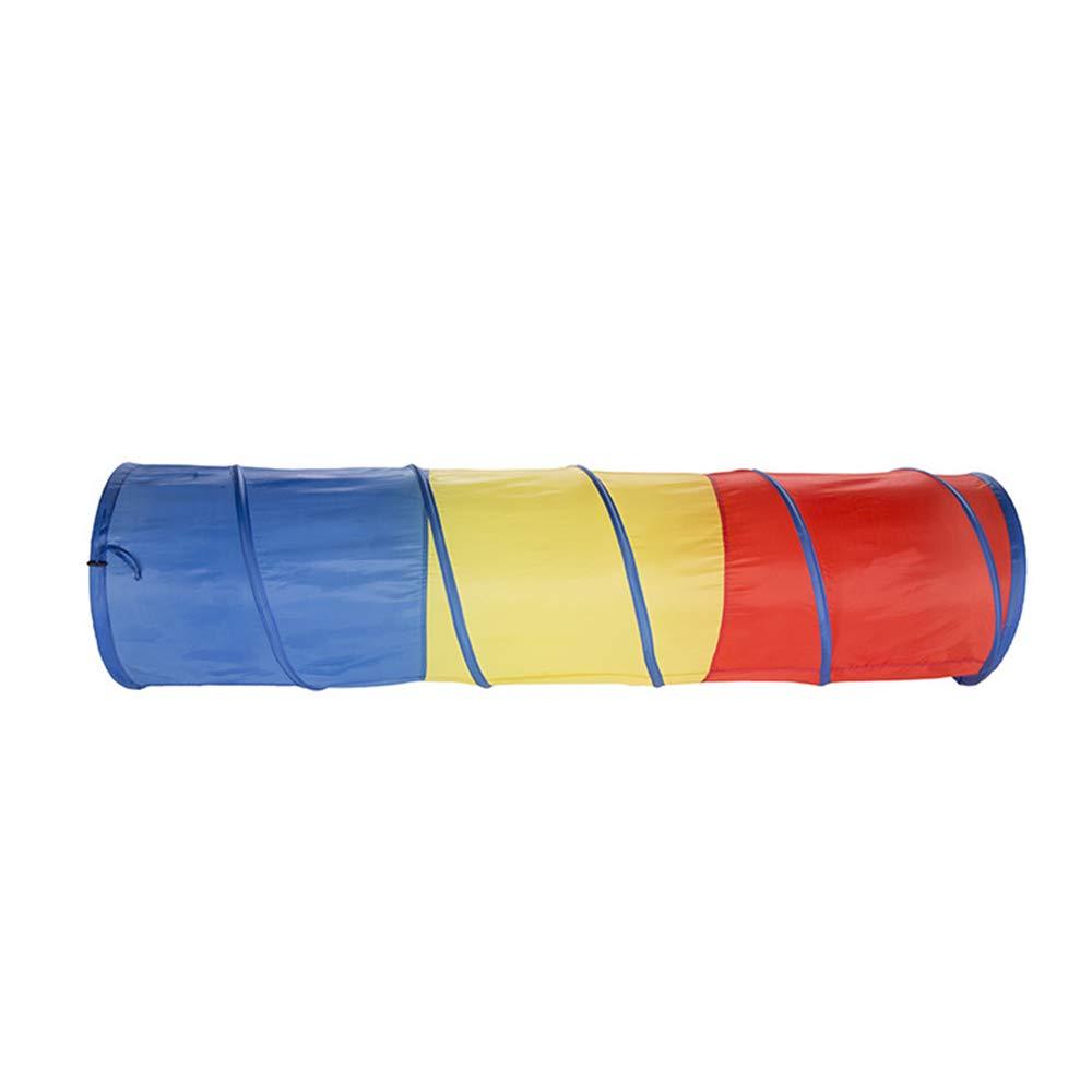 Tenda 48  180 CM Tenda per Bambini Tunnel Pieghevole Portatile Giocattolo del Bambino Magico Camera Drill Hole Tube Tubo Arrampicata, Luce del Sole Tunnel Strisciante