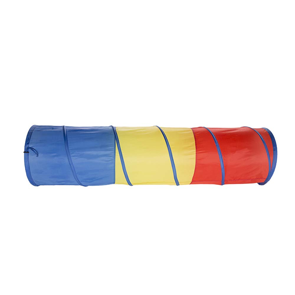 Canyixiu 48180CM Children's Tent Tunnel Folding Portable Magic Baby Toy Room Drill Hole Tube Climbing Tube,Sunlight Crawling Tunnel