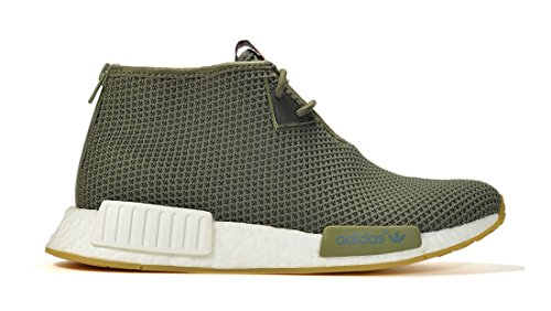 Adidas Mens Nmd_c1 End Green / White Nylon Taglia 9