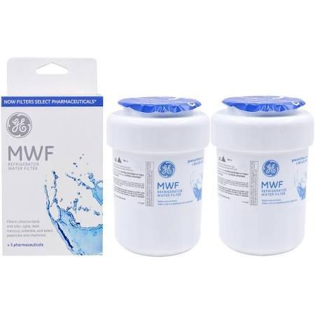 General Electric GE MWF Refrigerator Dispenser Replacement Water Filter, 2-Pack