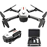 Alician Drone Trajectory Flight Altitude Hold G-Sensor 3D Flips 6-Axis Gyro Gimbal ZLRC Beast SG906 5G WiFi GPS FPV with 4K Camera and EPP Suitcase 3电池