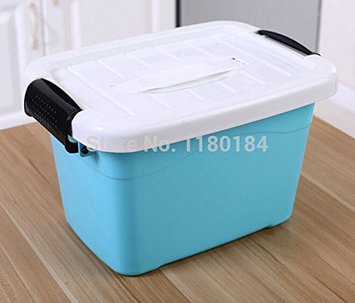 gogil 1PC Plastic storage box with lid finishing Plastic Clear Transparent Storage Box Collections Case Beads Home Supplies