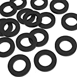 Hotop 20 Pack Garden Shower Hose Washers Rubber Washers Seals for Garden Hose and Shower Hose (1 inch)