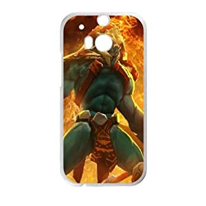 HTC One M8 Cell Phone Case White Defense Of The Ancients Dota 2 HUSKAR 001 UVW0560704