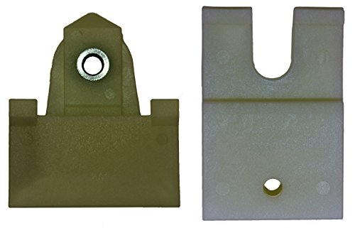 Door Window Channel Kit (PT Auto Warehouse WL-713480AB - Window Sash Channel Door Glass Retainer Kit, 2 pcs)