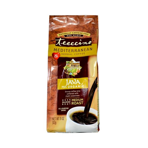 Herbal Coffee, Organic, Java, 11 oz ( Value Bulk Multi-pack)