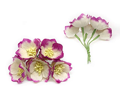 15-Cherry-Blossom-Flower-Artificial-Flowers-Paper-Flowers-Synthetic-Flowers-Fake-Flowers-Paper-Craft-Flowers-Mulberry-Paper-Flowers-Wedding-12-Pieces
