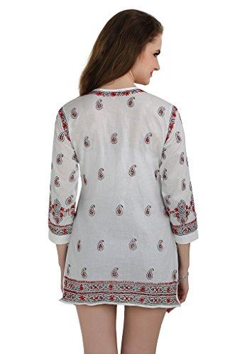 Gr Marvelous 42 Damen Kleid Maroon Indiankala4U nYvwPTqY