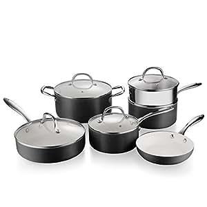 Amazon Com Lovepan Onions Pots And Pans Set White