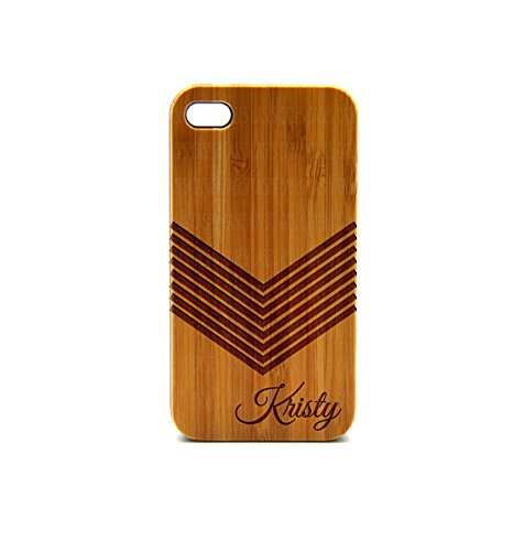 Krezy Case Real Wood iPhone 5c Case, arrow monogram iPhone 5c Case, Wood iPhone 5c Case, Wood iPhone Case,