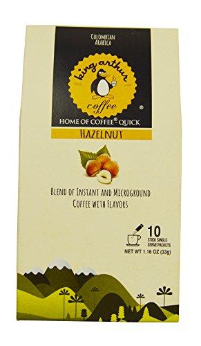 King Arthur Coffee Hazelnut Microground & Instant Coffee