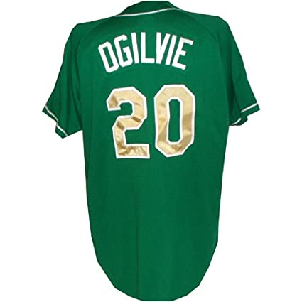 promo code 939aa 0dc78 Amazon.com : # 20 Notre Dame Baseball Green Game Used Jersey ...