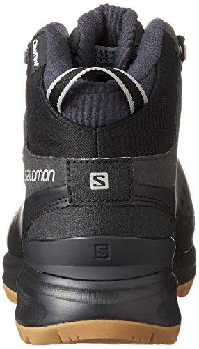Salomon L39059000 - Botas de senderismo Hombre Negro (Black /         Asphalt /         Titanium)