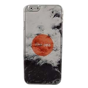 MOFY-Hermosa marea de pl‡stico duro de la contraportada para el iphone 6