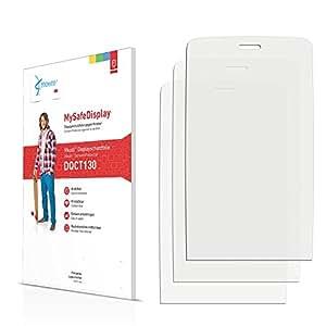 3x Vikuiti MySafeDisplay Protector de Pantalla DQCT130 de 3M para Nokia Asha 310