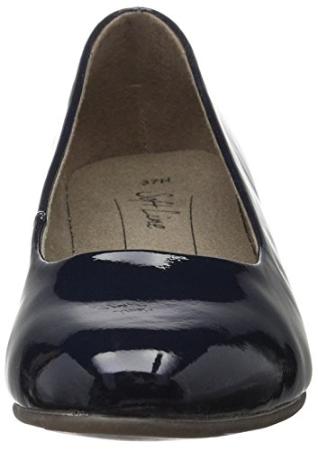 Navy Patent Donna 902 Tacco 22360 Blu Scarpe con Softline BUxCY4q0C