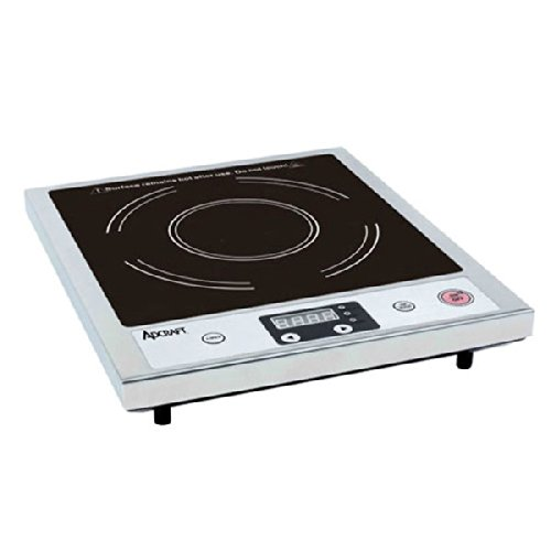 Adcraft Countertop Stainless Steel Induction Cooker, 120 Volts -- 1 each.