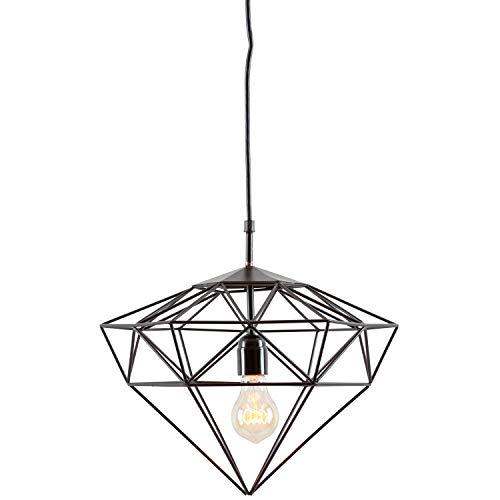 Light Society Sussex Small Pendant Light in Matte Black (LS-C216-BLK)