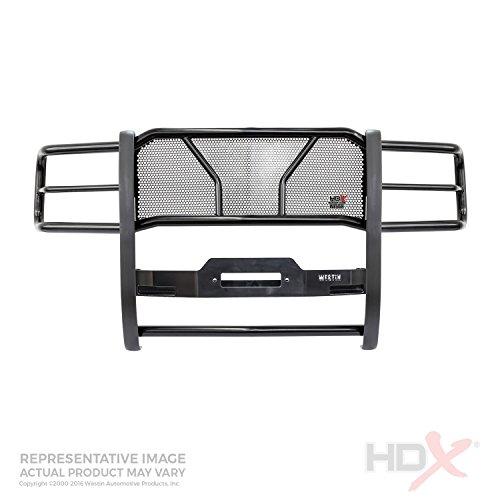 (Westin 57-93835 Black HDX Winch Mount Grille Guard)