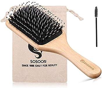 Bsisme Boar Bristle Hair Brush for Women/Men
