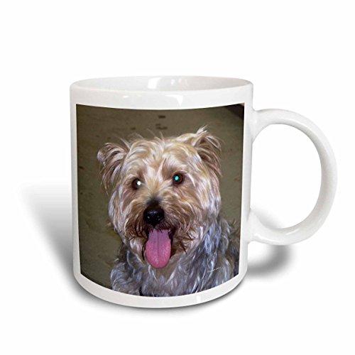 3dRose mug_22247_2 Silky Terrier Ceramic Mug, 15-Ounce