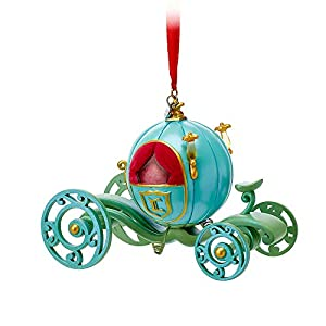 Disney Cinderella Pumpkin Coach Sketchbook Ornament