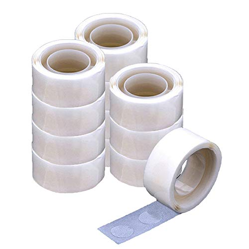 (12 Rolls Balloon Glue Point Dots Double-Side Adhesive Glue Balloon Tape Strips Stickers Tape Decorating Strip for Balloon Decoration Wedding Decoration DIY Craft Handmade)