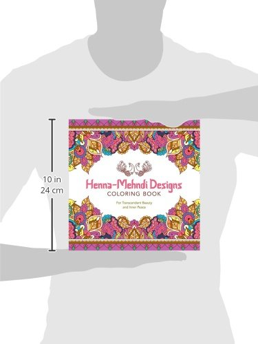 Henna Mehndi Designs Coloring Book For Transcendent Beauty And Inner Peace Serene Lark Crafts Amazoncouk Kitchen Home