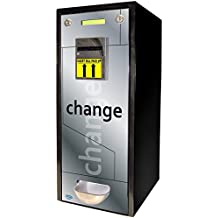 SEAGA Dollar Bill Changer Coin Vending Machine Fits 1,000 Coins ($250) or US Quarter Sized Tokens For Games or Slot Machines Best ChangeMaker