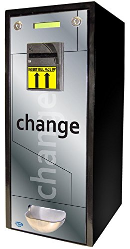 SEAGA Dollar Bill Changer Coin Vending Machine Fits 1,000 Coins ($250) or US Quarter Sized Tokens For Games or Slot Machines Best ChangeMaker - Arcade Single Hole